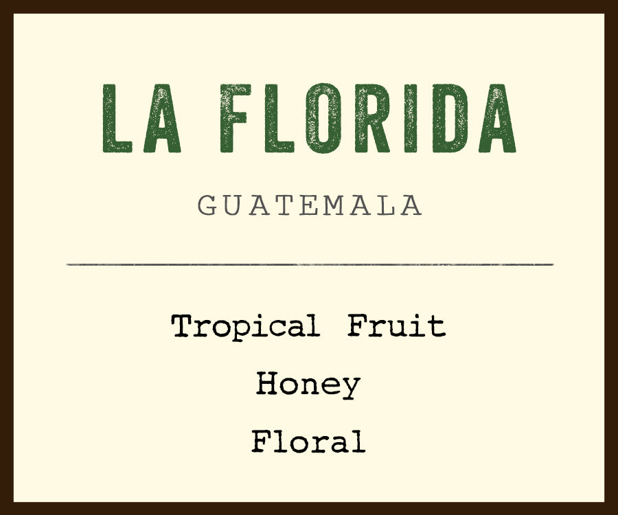 La Florida coffee from Guatemala