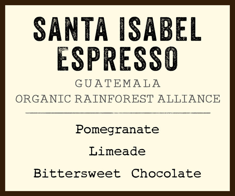 santa isabel coffee