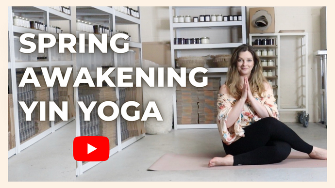 Gentle Spring yin yoga sequence