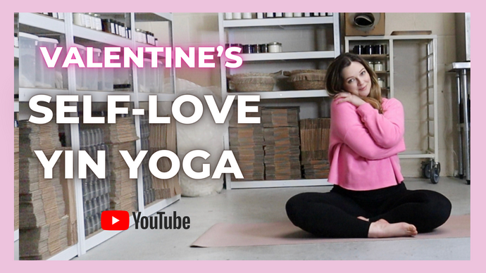 Self love yoga for Valentine's Day