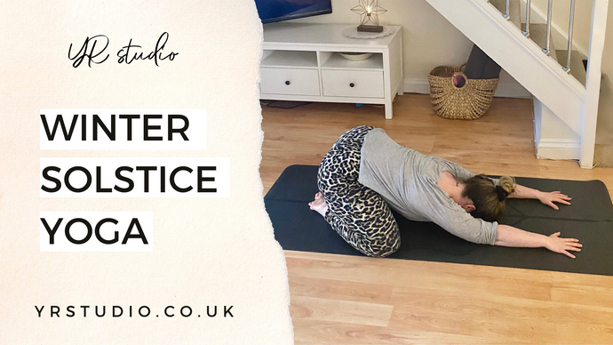 Relaxing yoga sequence for Winter Solstice