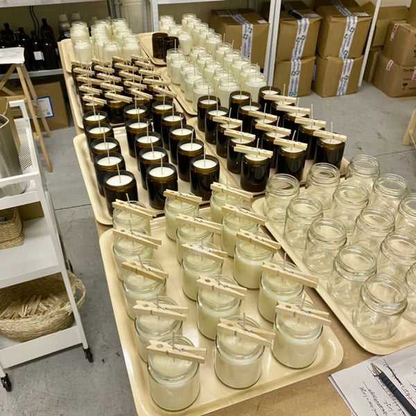 Let's make business - wholesale soy candles made in UK