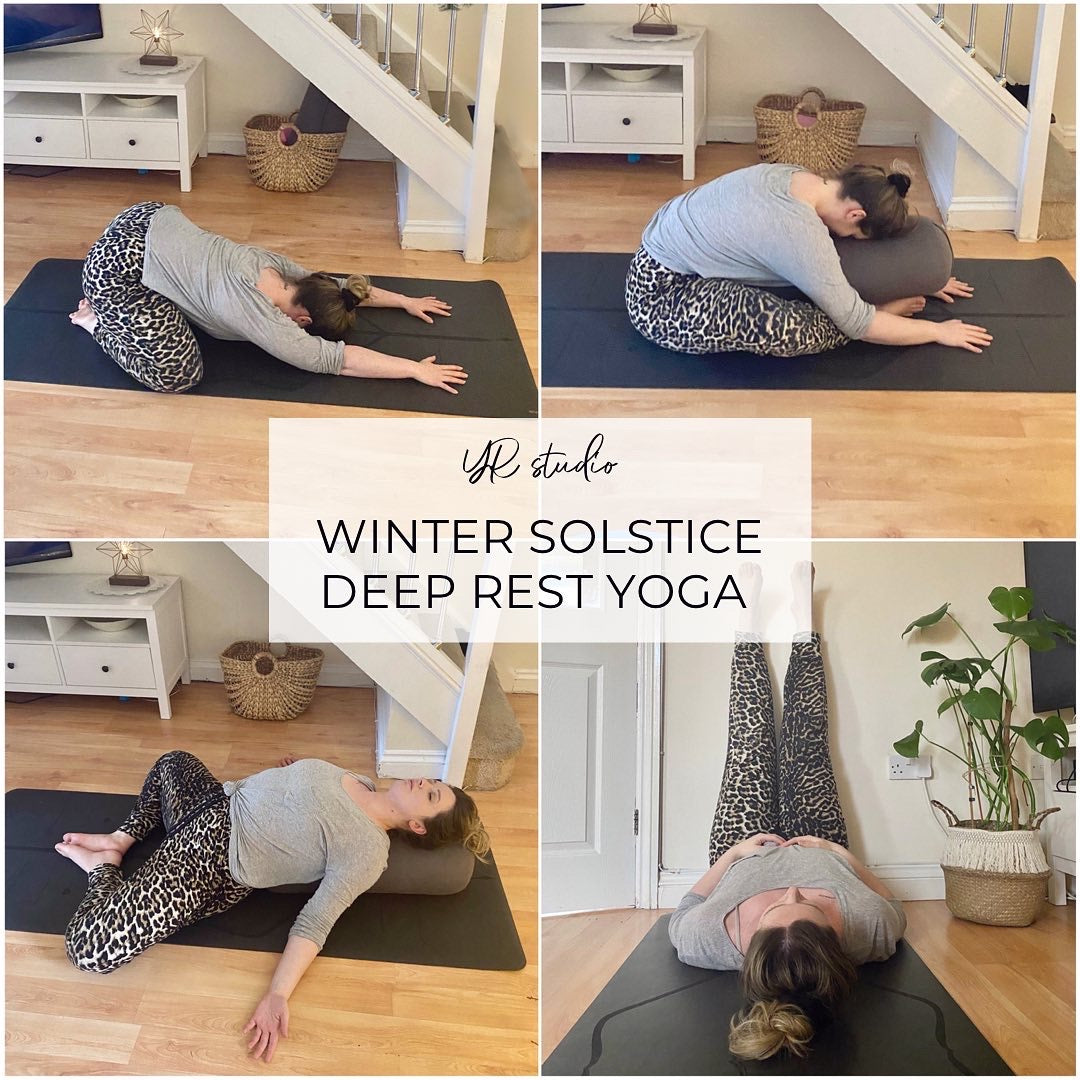 Winter solstice yin yoga sequence