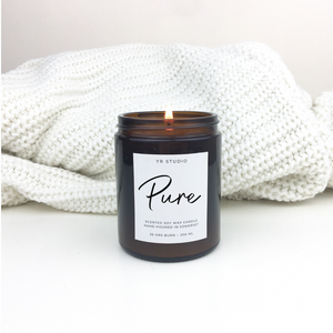 Pure soy candle - medium