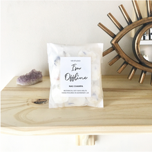 "Load image into Gallery viewer, ""I'm offline"" Nag Champa wax melts"