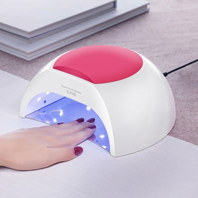 48W LED UV nail Lamp with 4 Timer Setting,Senor For Gel Nails and Toe Nail Curing