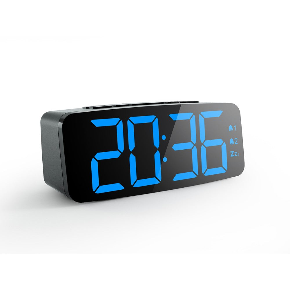 Promotional Gift Digital Alarm Clock Multifunctional Small Cube LED USB Clock for Home Office