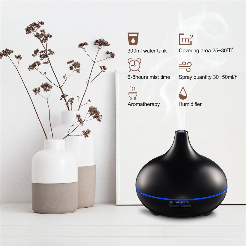 Top Seller 7 Color LED Lights Ultrasonic Aromatherapy Essential Oil Diffuser Professional Aroma Air Humidifier