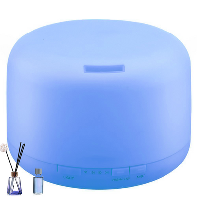 500ml  Ultrasonic Aromatherapy Humidifiers Remote Control LED Essential Oil  Aroma Diffuser