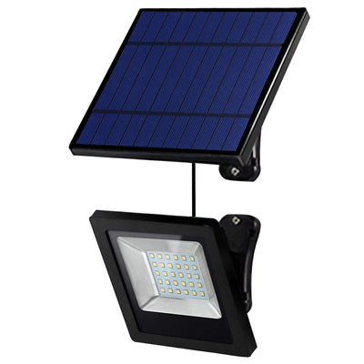 Solar Powered Lights Outdoor, Bright White Light IP65 Waterproof Auto Dusk to Dawn 350° Adjustable Solar Security Flood Lights for Barn, Garden, Garage, Pathway, Yard, Patio, Lawn, Balcony