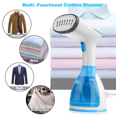 Handheld Clothes Steamer, Garment steamer 15s Fast Heat up 1500W Powerful Steamer for Travel and home, 280ml Removable Water Tank Vertical And Horizontal Steam