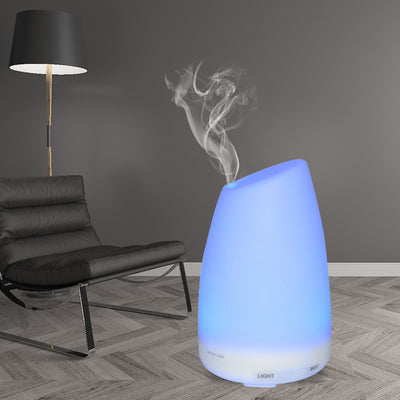 120ml Essential Oil Diffuser Portable Ultrasonic Mini Humidifier Aromatherapy Diffusers with 7 Changeable Colored LED Lights