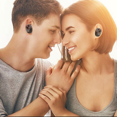 Bluetooth Earphone With V5.0+EDR Stereo Sound V5 Wireless Earphone Built-in Microphone Hands-free Calling Bluetooth TWS Earbuds