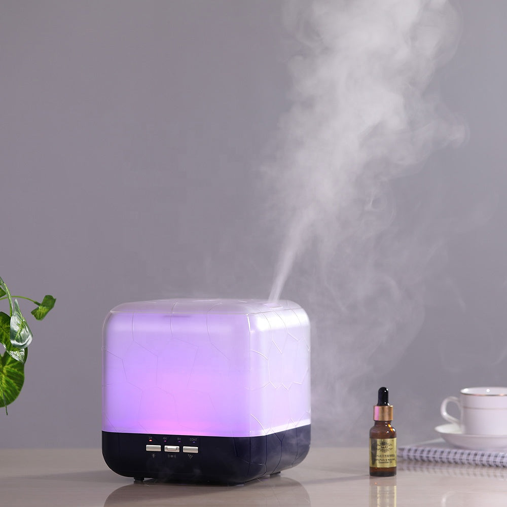 New Room Electric Led Light 1l Essential Oil Air Humidifier Sensor Ind Admiredgo