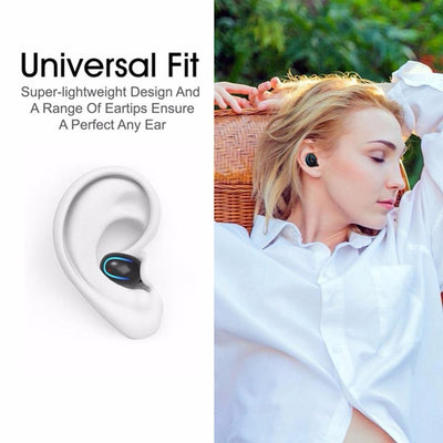 wireless headphones bluetooth 5.0 noise canceling earphones phone earbuds headset withWireless TWS Headphones Bluetooth Earphones True Stereo Earbuds Sports Headset