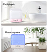 New Room Electric LED Light 1L Essential Oil Air Humidifier Sensor Induction Intelligent Large Space 1000ml Aroma Diffuser -- Humidify, purify, aromatherapy, led light, decorate, beautify function.