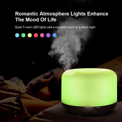 500ml oil dispenser with  Aromatherapy Diffuser Home and Office fragrance nebulizer Ultrasonic Essential Oil Aroma Diffuser