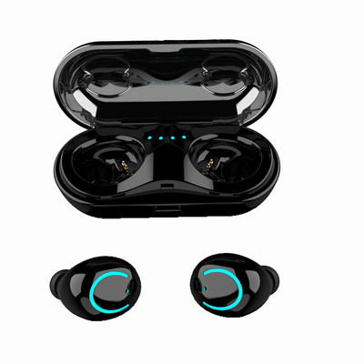 HBQ Q18 TWS MINI wireless headphones bluetooth 5.0 noise canceling earphones phone earbuds headset with microphone Charging Case