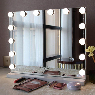 Hollywood Style Makeup Mirror Vanity LED Light Bulbs Kit with USB Cable Power Supply Vanity Mirror Lights