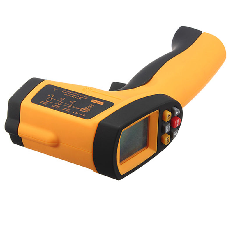 GM900 Non-contact Temperature meter Pyrometer 0.1~1EM Celsius IR Infrared Thermometer / Digital thermometer infrared thermometer laser thermometer