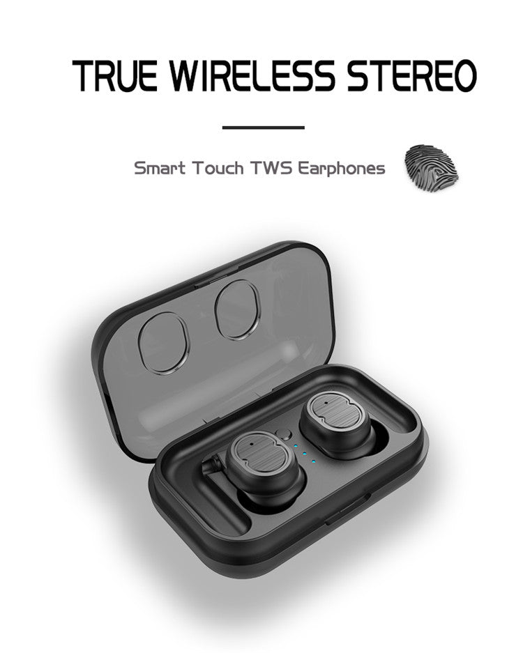 5.0 Touch Control Mini Sport Waterproof Tws True Wireless Earbud