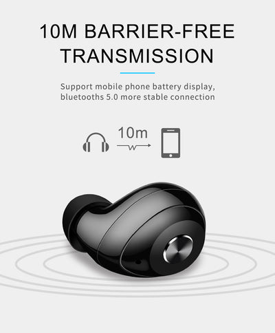 Hot selling design mini bluetooths earphone earbuds headphone , wireless bluetooths tws in ear earbuds with charging case