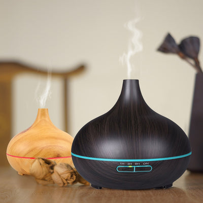 Copy of 9 Woodgrain Aroma Diffuser Humidifier Wholesale Air Humidifier 300ML Essential Oil Humidifier