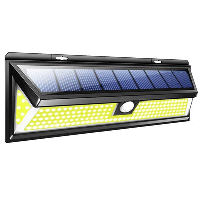 Outdoor waterproof emergency PIR motion sensor COB led solar garden light solar wall lamp solar sensor wall light