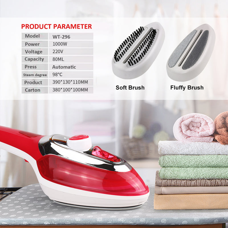 Handheld Garment Steamer Brush Portable Vertical Steam Iron For Clothes Ironing Steamer For clothes Handheld Mini Fabric Steamer