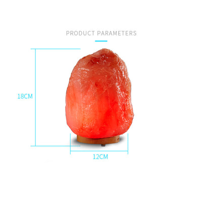120ml Resin Ultra-Realistic Himalayan Salt Lamp Hand-Carved, 7 Colors Mood LED Lights Ultrasonic Aromatherapy Humidifier Auto Shut-off for Home Office Baby Yoga Spa