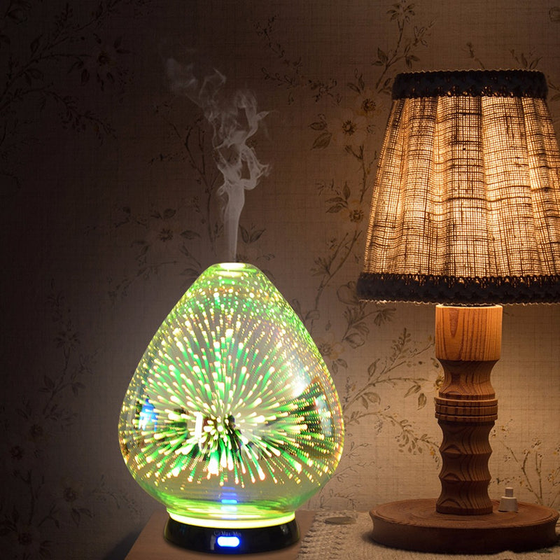3D air aromatherapy essential oil diffuser for Christmas Promotion