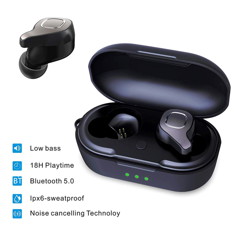 New Design TWS Wireless Earbuds Bluetooths Earphone Headphone OEM In-Ear 500mAh Audifono Bluetooths 5.0 TWS Wireless Earbuds