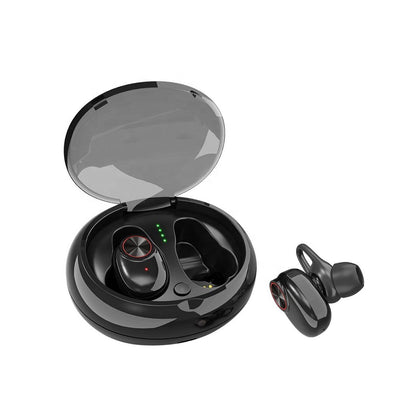 wireless earphone v5 tws bluetooths 5.0 headphone Customize stereo wireless earbuds with charging case box