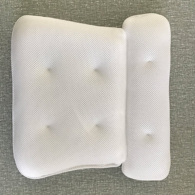 Bath Pillow – Non Slip, Luxury Bathtub Pillow for Your Head & Neck. Anti-Mold & Waterproof. This Spa Cushion has 6 Extra Large Suction Cups to Guarantee The Best Relaxing Experience