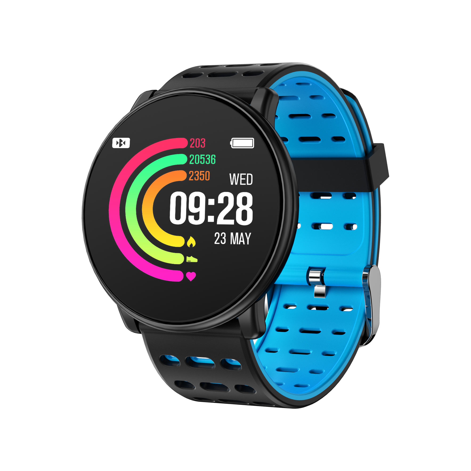 smartwatch IP67 waterproof sport bluetooth  WISH android fitness smart watch