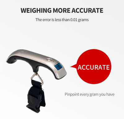 Perfect digital luggage portable electronic weighing scale  / Modern design portable luggage scale travel mini scale LCD