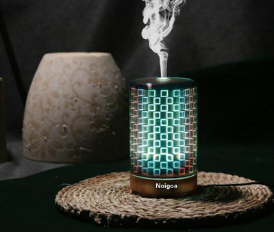 No Timing Function Fresh Air Creative Fireworks 3D Aromatherapy Humidifier  ,3D LED Lights Oil Diffuser Ultrasonic Cool Mist Aromatherapy Humidifier