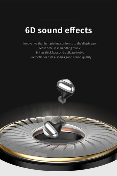 High quality T50 TWS Mini Earphones Wireless Sport Touch Headphones 3D Stereo Gaming Headset Noise Cancelling Earbuds