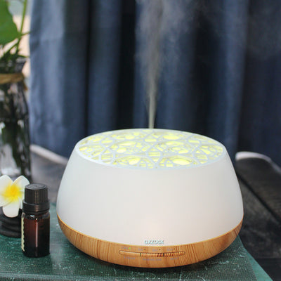400ml Essential Oil Diffusers Ultrasonic Humidifier Portable Aromatherapy Diffuser with Large Capacity Ultrasonic Aroma Essential Oil Diffuser