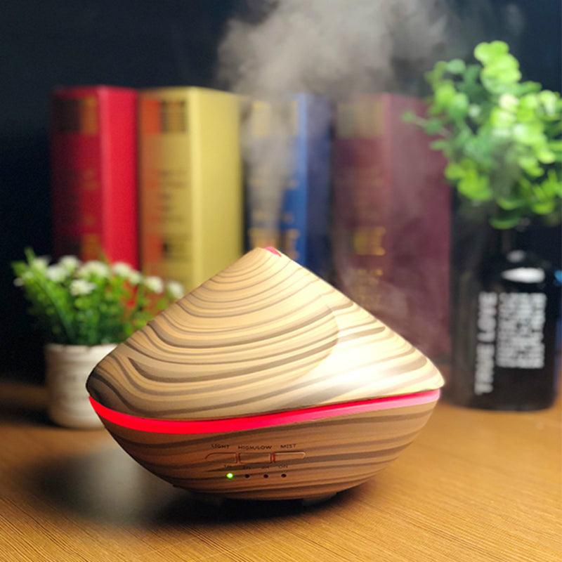 500ml new idea design sea essential oil diffuser/ultrasonic aromatherapy smart air humidifier
