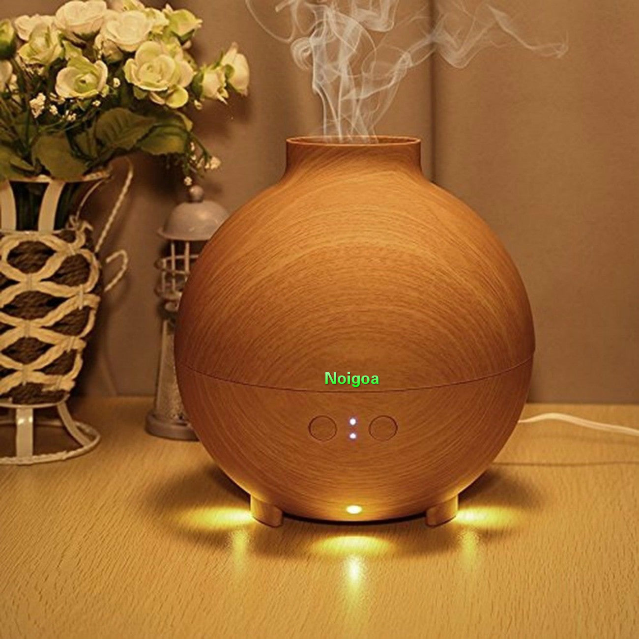 600ml aromatherapy essential oil aroma nebulizer diffuser / Luxury Decorations Cool Mist Humidifier Globe Ball Shaped Premium Therapy Air Freshener Large Essential Oil Aroma Diffuser