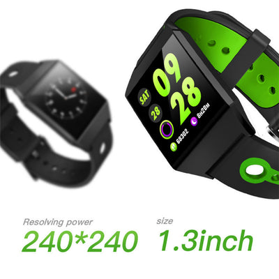 Copy of Smart Watch Android Heart rate Blood oxygen Blood pressure monitor IP68 Waterproof smartwatch