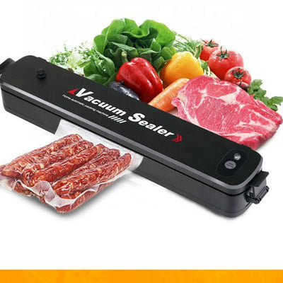 Household Home Vacuum Sealer Sealing Machine Automatic 2 in 1 dry and moist food saving saver preservation packer kitchen tools