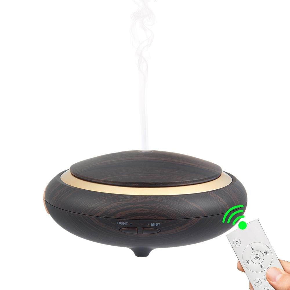 150ml 7 colors wood grain electric home air aromatherapy oil aroma diffuser ,Function of Reomte control wood grain armoa oil diffuser