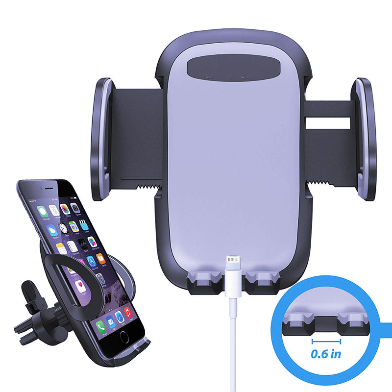 Universal Smartphone Car Air Vent Mount Holder Cradle for iPhone XS XS Max XR X 8 8 Plus 7 7 Plus SE 6s 6 Plus 6 5s 4 Samsung Galaxy S10 S9 S8 S7 S6 S5 S4 LG Nexus Sony Nokia and More