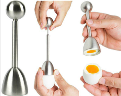 Kitchen Tools Household Practical Eggshell Cutting Stainless Steel Egg Topper