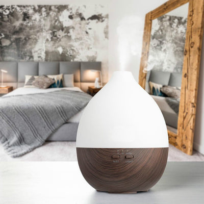 Ultrasonic Aromatherapy Essential Oil Diffuser - Cool Mist LED Humidifier for Home,Office,Sparoom Air diffuser