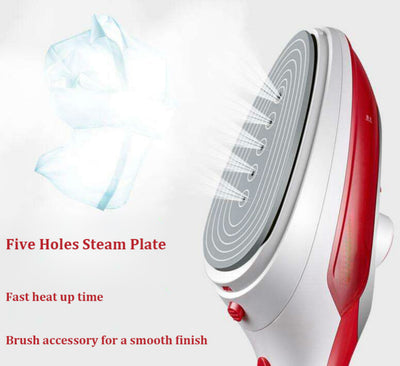 Garment Steamer Brush Portable Steam Iron Clothes Mini Household Appliances Electric Steam Irons Brushes