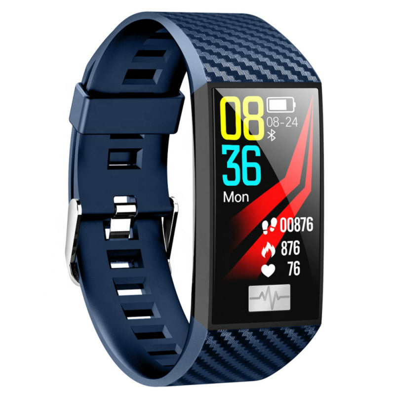Smart Bracelet IP68 Waterproof ECG PPG Heart Rate Blood Pressure 1.14 Inch Large Screen Smart Watch for Android IOS