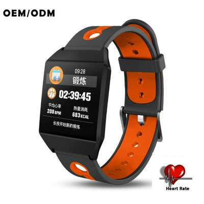 Android Heart rate Blood oxygen Blood pressure monitor IP68 Waterproof smartwatch